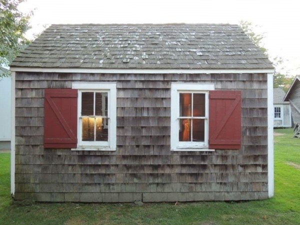 Oldest one room school house in Southampton, built in 1850
