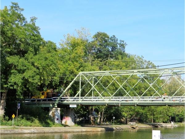 The Marsh Road Canal Bridge in Bushnells Basin in Perinton