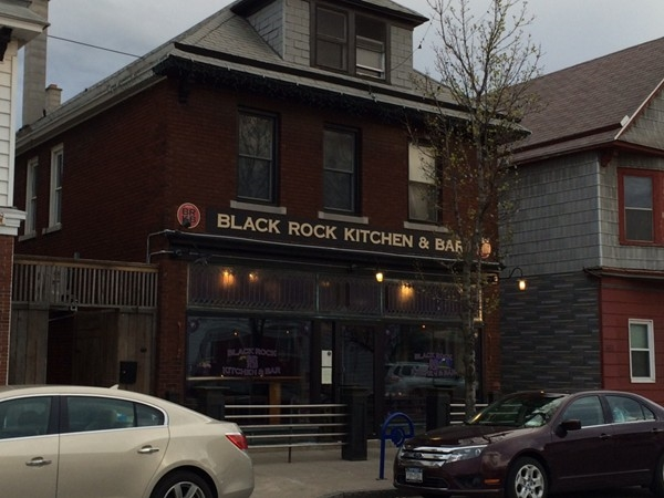 Black Rock Kitchen & Bar - one of the hot spots in a quickly growing neighborhood