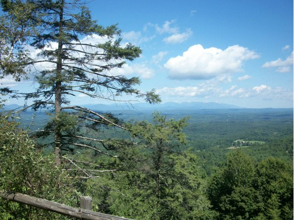 View from trails at Mohonk Moutain Preserve