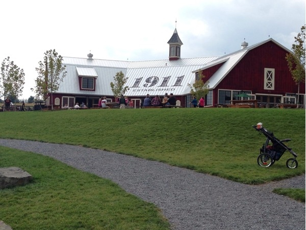 Beak and Skiff has been serving up apples, baked goods, and even apple vodka since 1911!