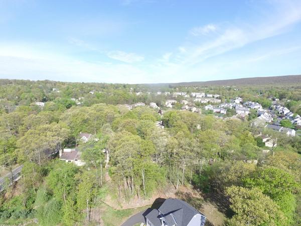 Overlooking Woodbury Heights in Highland Mills