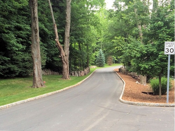Entrance at The Greens of Woodbury,,,Great curb appeal!