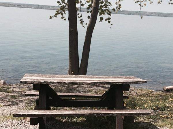 Public lake access in Willard NY
