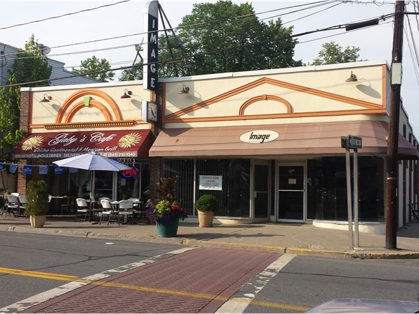 Outdoor seating for Main Street restaurants in Ellenville