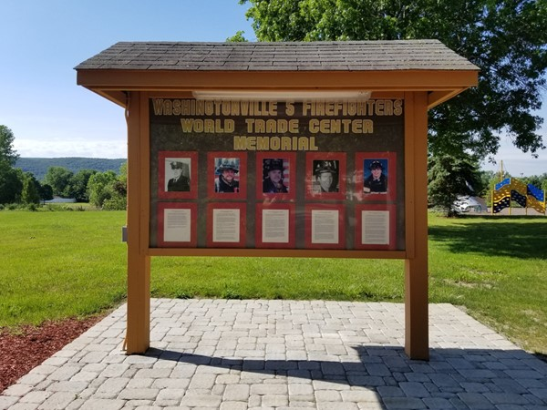 World Trade Center Memorial in Washingtonville