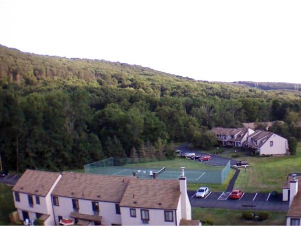 Tennis courts in Windridge
