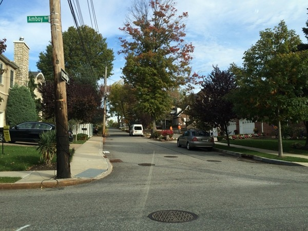 Typical tree lined streets. Prince's Bay off Amboy Road is a great area