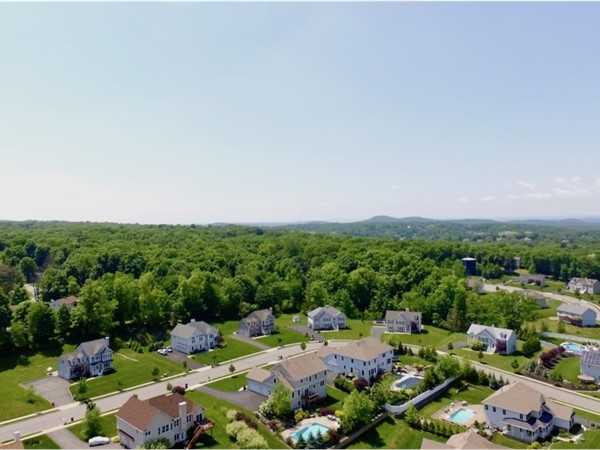 Estates of Briarcliff offers municipal water and sewer.  Most lots are around a half acre