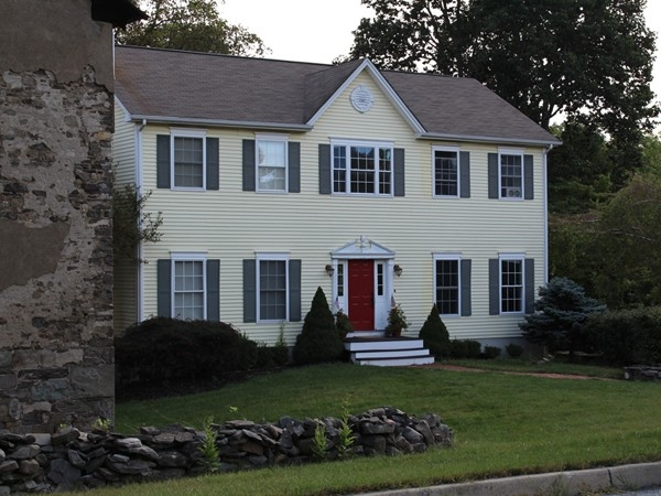 Nestled behind a historic building is Post Farm Estates, Monroe