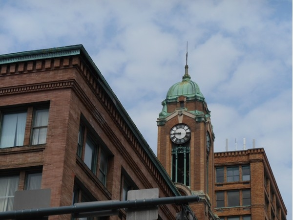 The Sibley Tower Building,1906, houses over 200,000 square feet of office, retail, residential space