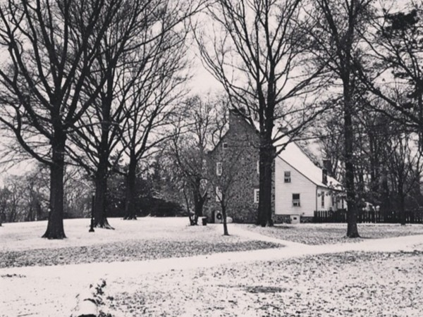 Conference House Park in wintertime