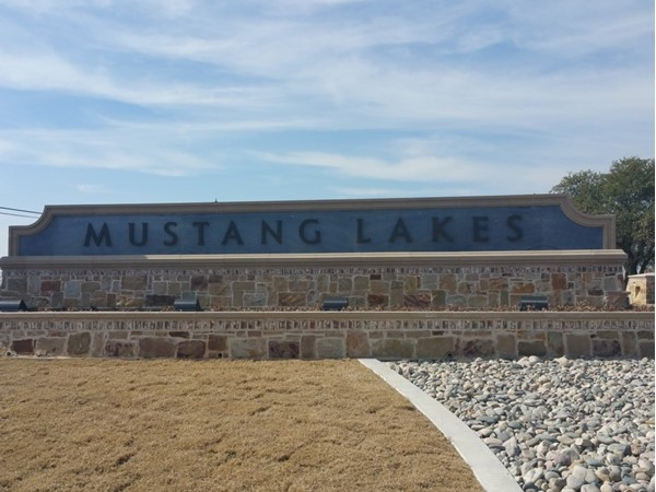Mustang Lakes is a unique community