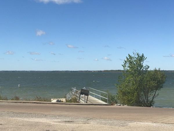 Lake in Lake Lavon subdivision