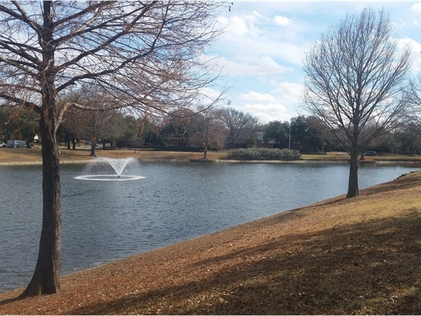 Twin Lakes Park is a popular spot to be on a nice day