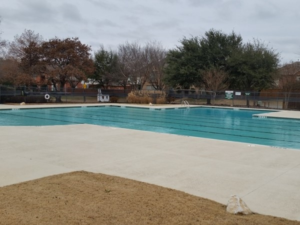 Swim club in Estates at Russell Creek