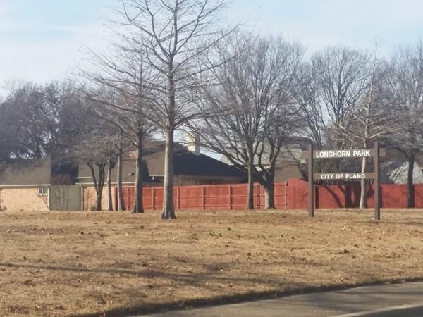 Longhorn Park in Dallas North Estates
