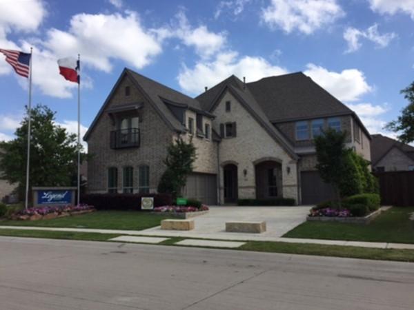 American Legend Homes in Allen