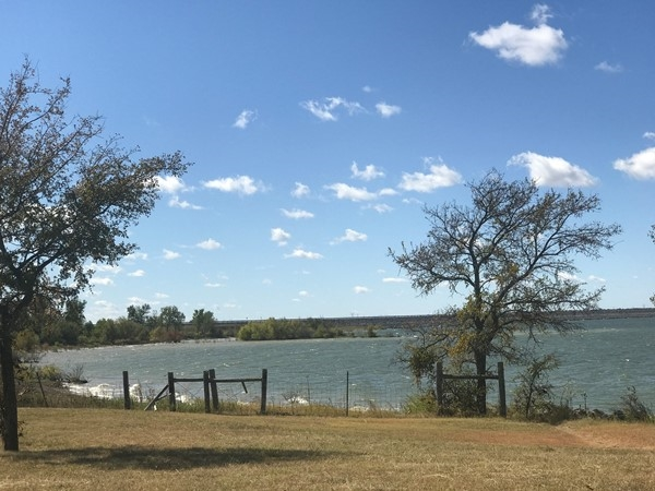 One of the lakes in Lake Lavon