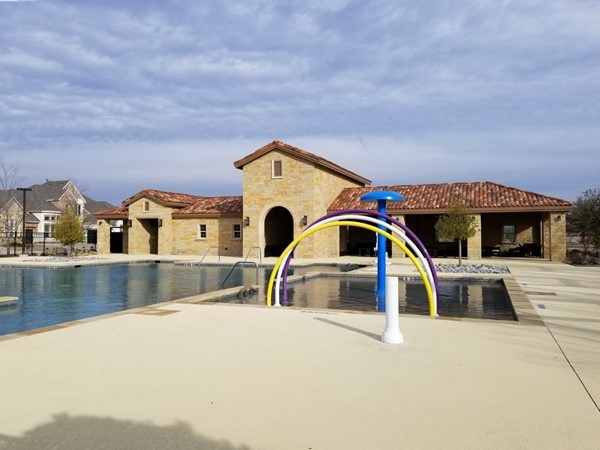 Pool and amenity center at Stone Hollow