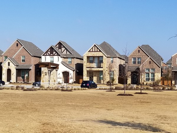 Some of the homes in Ainsly Meadow