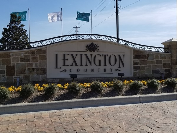 Welcome To Lexington Country