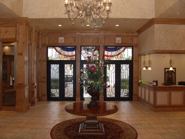 Main lobby of the clubhouse at Heritage Ranch