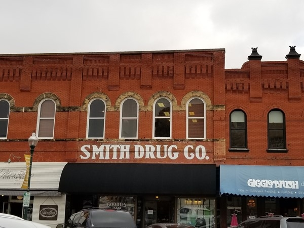 Smith Drug building in Downtown McKinney