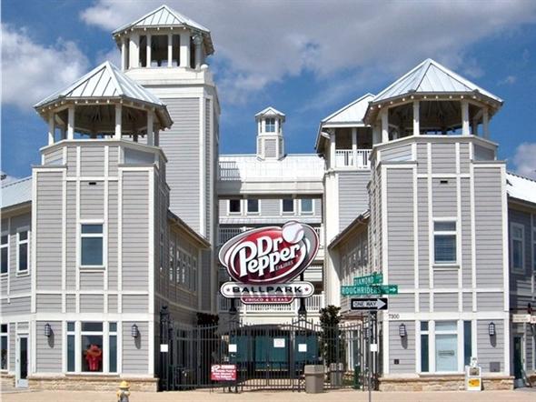 Dr. Pepper Ballpark, home of the Frisco RoughRiders
