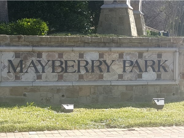 Welcome to Mayberry Park