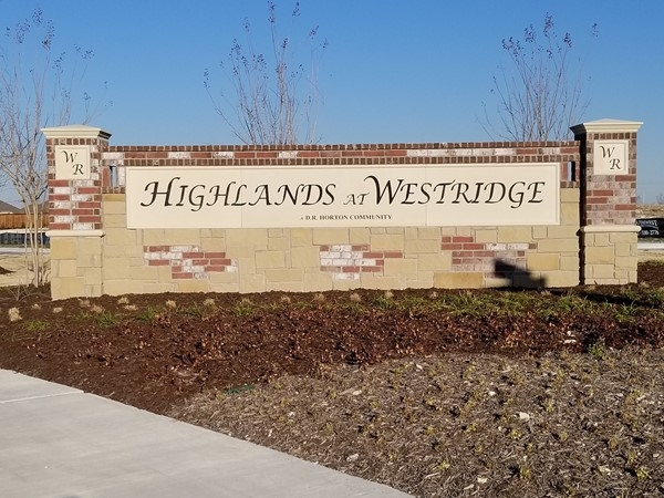 Welcome To Highlands At Westridge