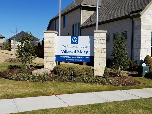 Villas At Stacy Model Home