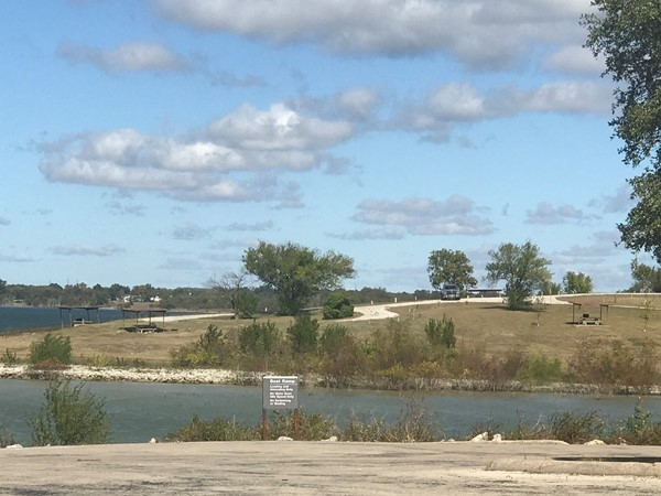 Lakes and parks in Lake Lavon