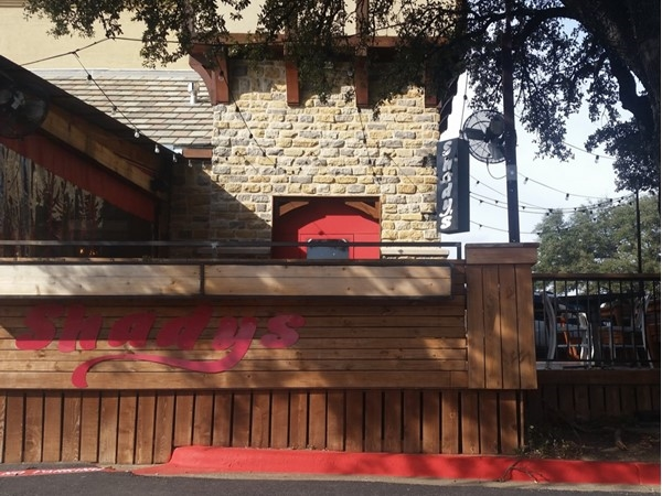 Shady's, a local hamburger joint in Canyon Creek, will have a packed patio on a nice day
