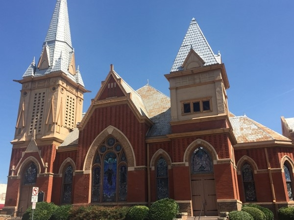 First Christian Church in Downtown Greenville