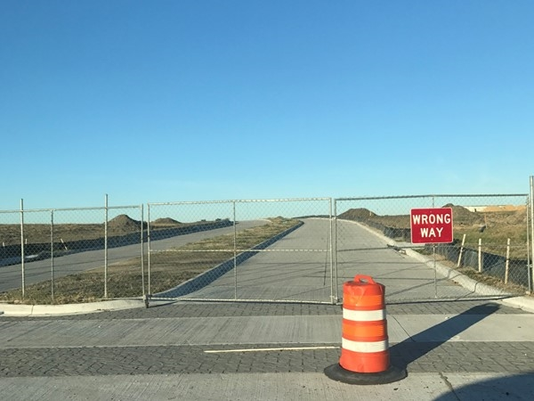 Before long this road will be open to shopping, dining, and much more. Located on Dalrock