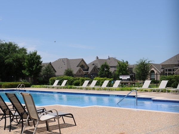 Pool in Crown Ridge