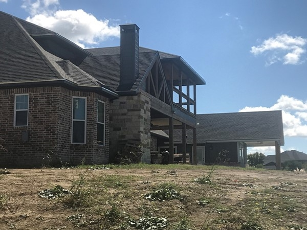 Typical home in Lake Lavon