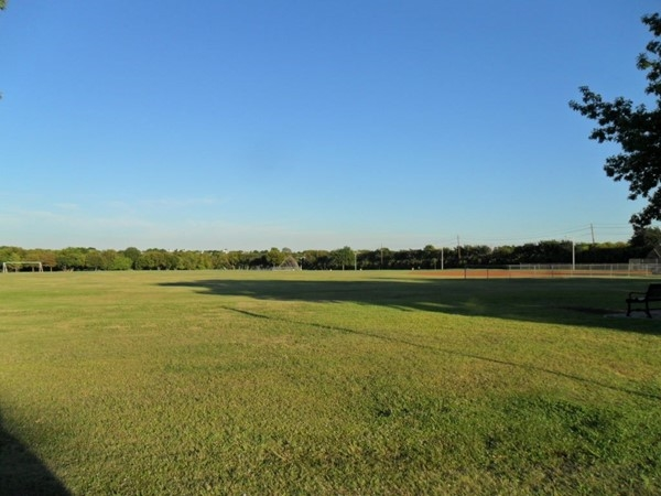 Soccer Field and Baseball Field at Crowley Park
