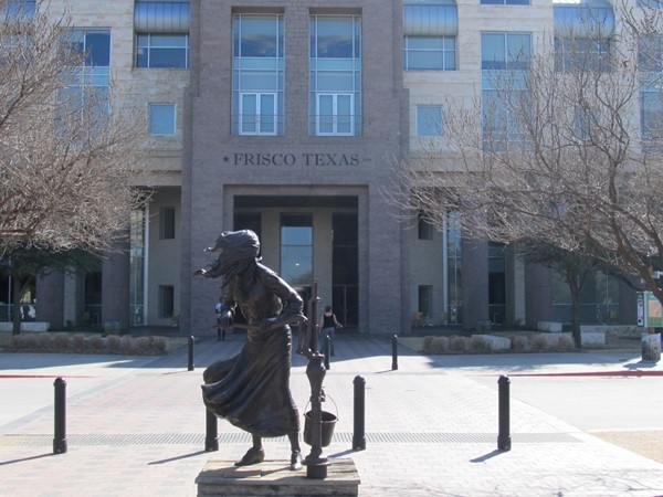 Frisco City Hall and Public Library