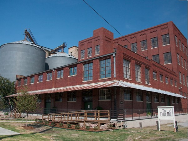 The Flour Mill is a historic fixture in McKinney. It is now a popular venue for weddings