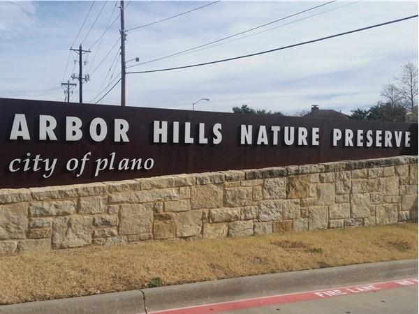 Nature preserve close by Parker Estates