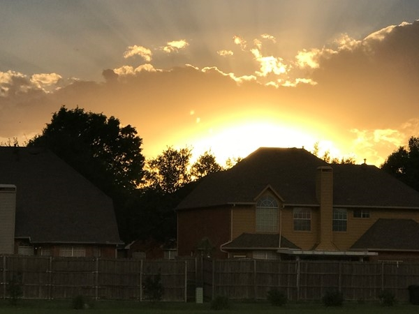 The sunsets in Rowlett are some of the best no matter where you are