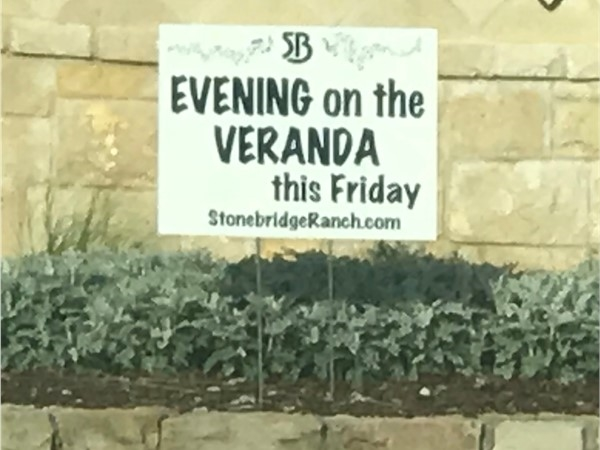 Enjoy an Evening on the Veranda in Stonebridge Ranch