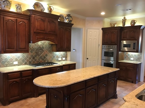 A spacious kitchen with Viking Appliances await a new owner