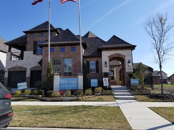 K Hovnanian Model In Lexington Country