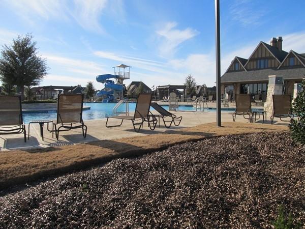 Residents enjoy a resort style pool