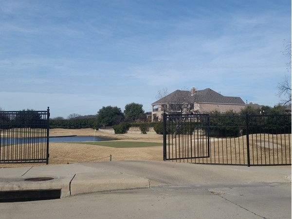Large homes on spacious lots overlooking ponds, vistas, and the golf course